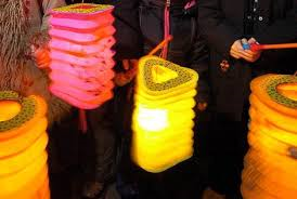 Lampionnen optocht @ Dorpsplein